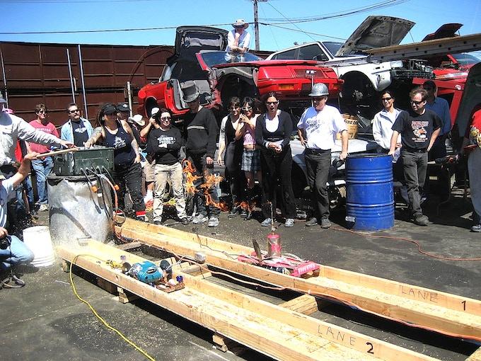 Power Tool Drag Races circa 2008
