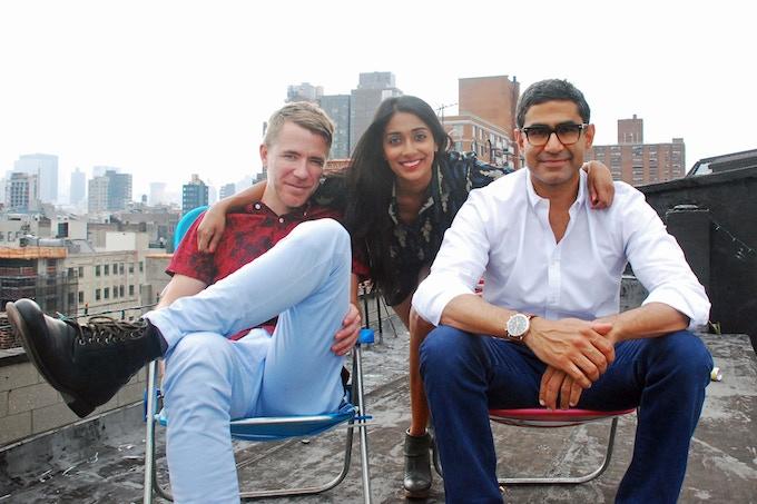 David, Amisha, and Rishi