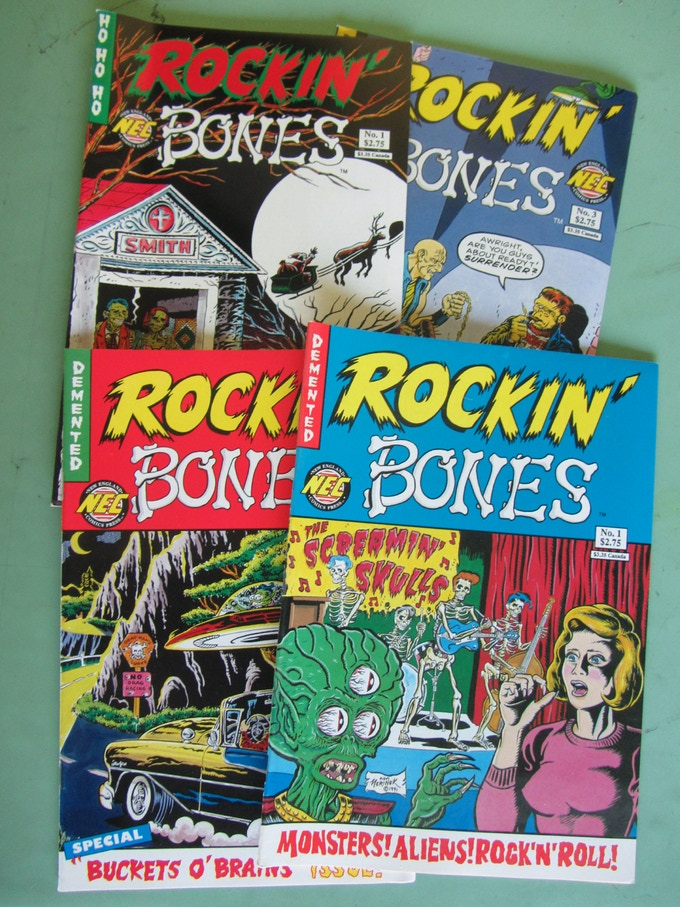 Original Rockin' Bones Issues
