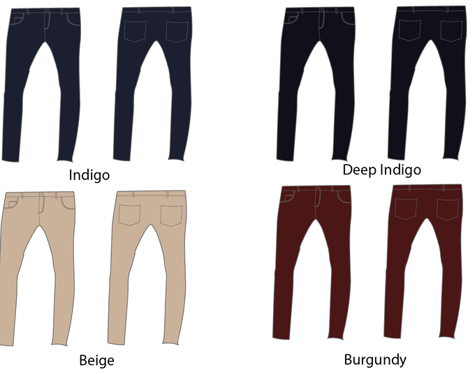 100% Supima Cotton Jeans