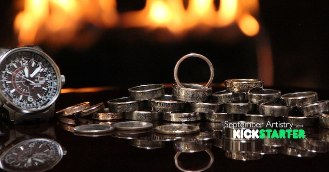 Pocket Change To Jewelery Coin Rings By D C Donald