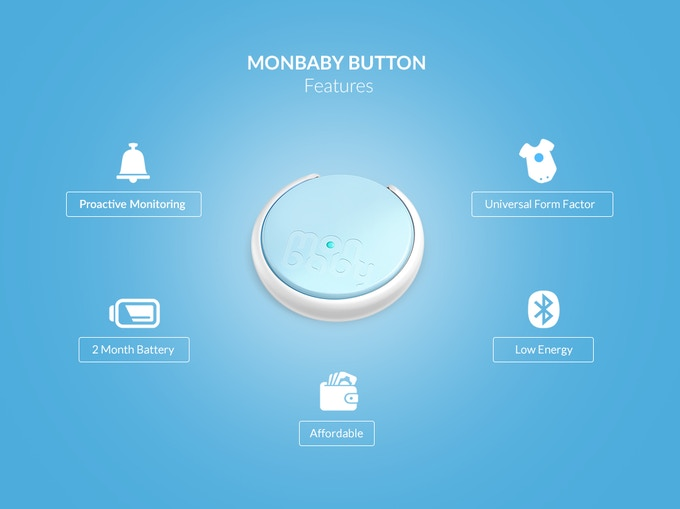 MONBABY BUTTON FEATURES