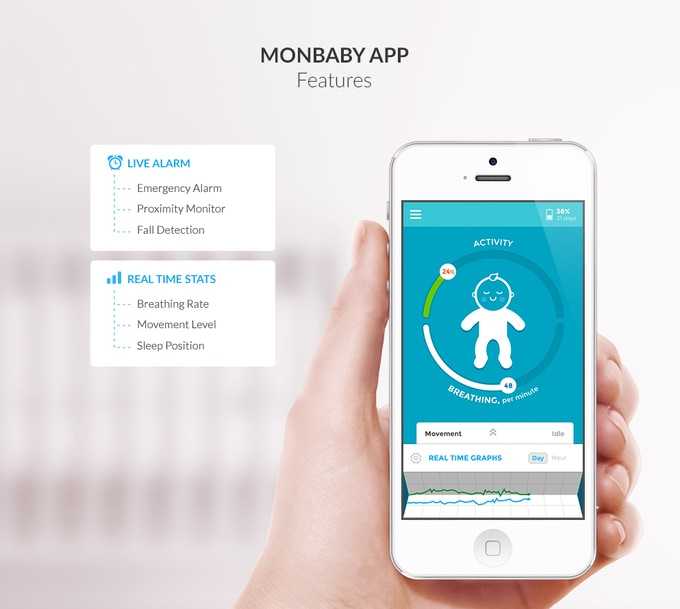 MONBABY APP FEATURES