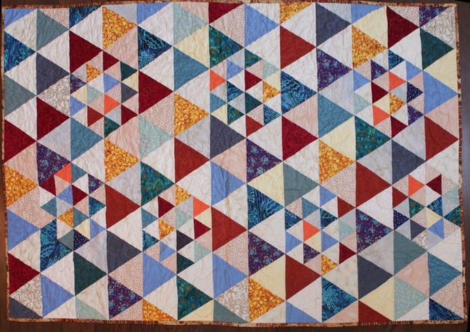 "Quilt Front 70""x44"""