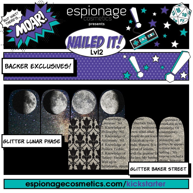 Baker Street and Lunar Phase Glitter Variants - FOR BAKERS ONLY