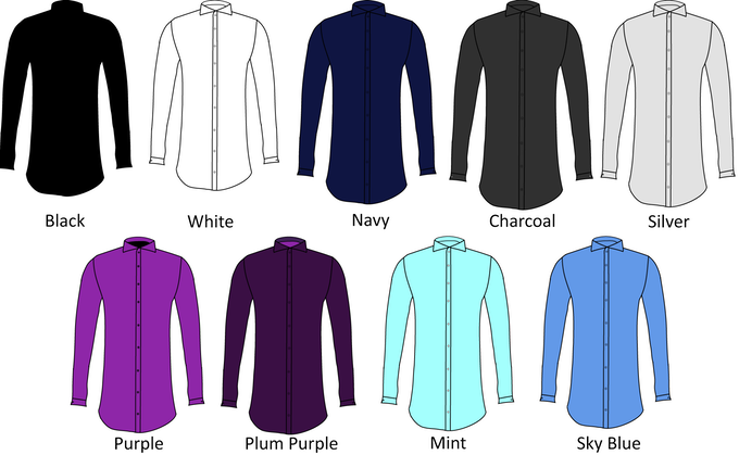 100% Egyptian Cotton Dress Shirts