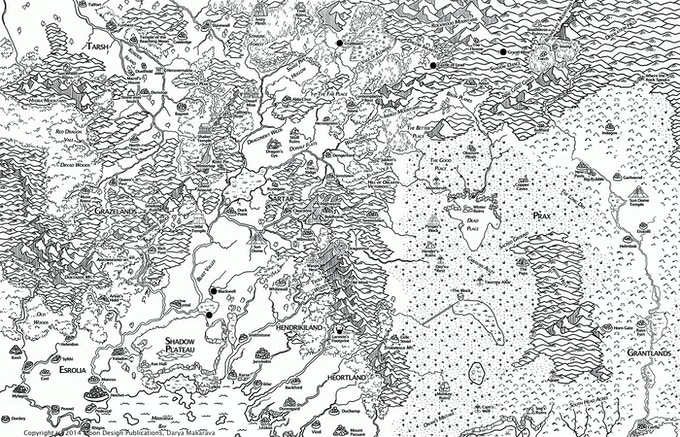 Draft 1 of the map by Darya Makarava
