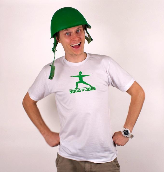 The Yoga Joes Tshirt