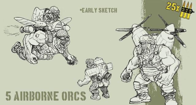Airborne Orcs