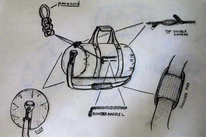 Bomber Barrel - Design