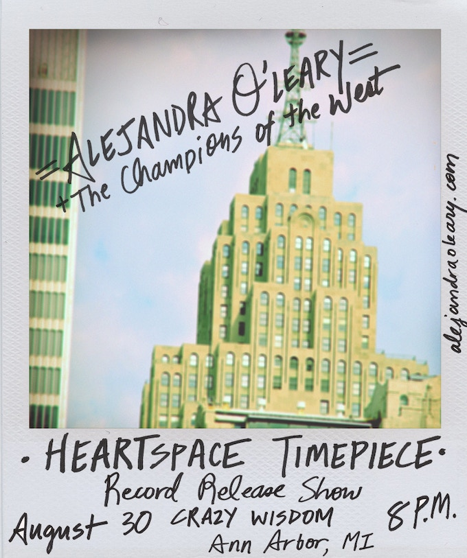 Heartspace Timepiece show poster (2014), art & design by Marvin Astorga