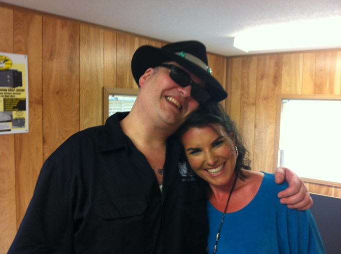 John Popper and Beth Patella: Opened for Blues Traveler at The CT Milford Oyster Festival, August 2013
