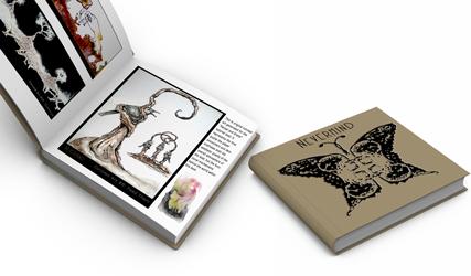 Mockup of final printed Art Book