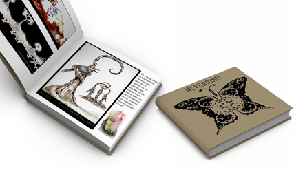 Mockup of final printed Art Book