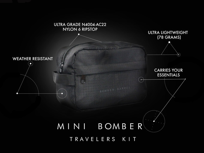 Bomber Mini - Travelers Kit