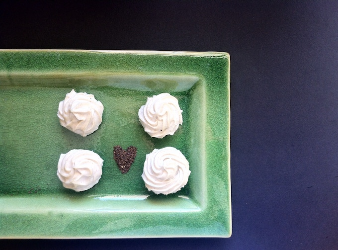 Lemon Myrtle Cheesecakes on a Chocolate base (click on the photo to go to the recipe)