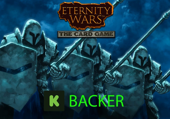 Use this backer icon as your profile picture to proudly display your support for Eternity Wars!