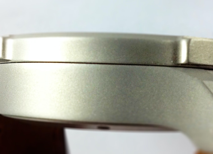 Example of a bead blasted case finish.