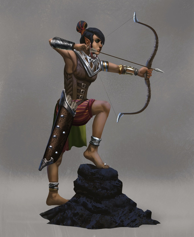 Shade Elf Scout