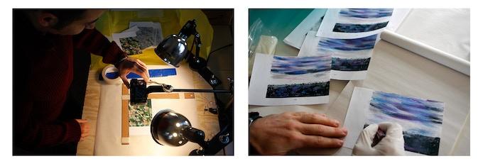 In my studio at the Tin Shop, Breckenridge, CO, 2008