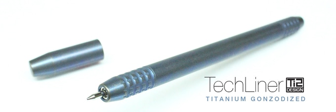 Ti2 TechLiner Titanium Gonzodized