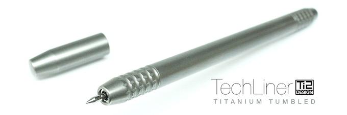 Ti2 TechLiner Titanium Tumbled
