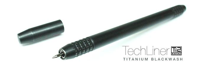 Ti2 TechLiner Titanium Blackwash