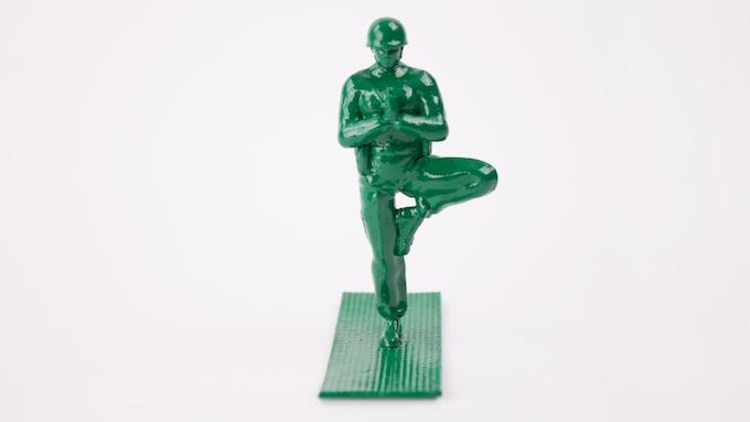Resultado de imagen para soldiers doing yoga