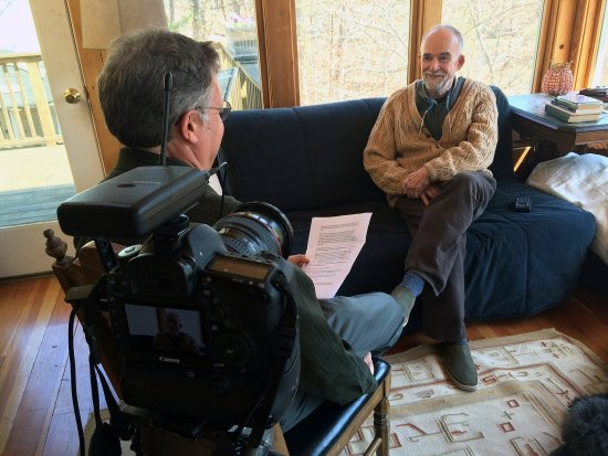 "Don Wilding interviews Cape Cod essayist Robert Finch in April 2014. Finch wrote the introduction to the most recent editions of ""The Outermost House."""