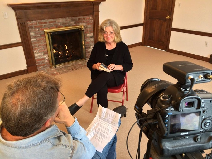 Don Wilding interviews writer Joan Anderson, February 2014.