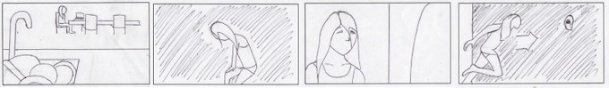 Some storyboards by Crystal Zhang