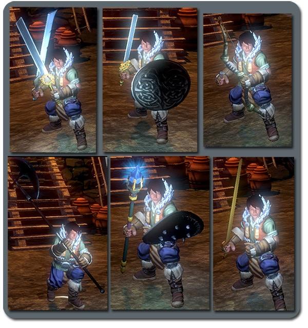 Yona in-game using various kits