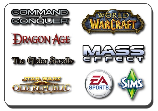 Our core team members have contributed to some great AAA franchises over the years!