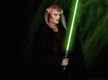 Kan Bonfils in Starwars: The Phantom Menace