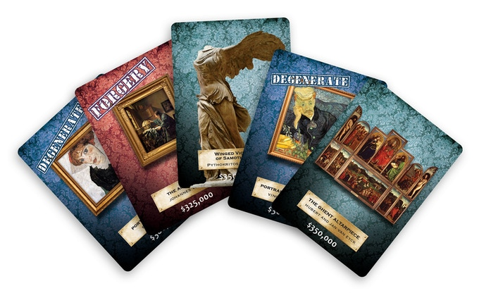 Pledge $22 and you'll get these promo cards and the game!