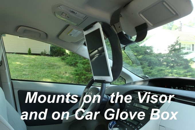 Mount Clamp Champion in your car to use GPS, review work orders or simply watch a video!