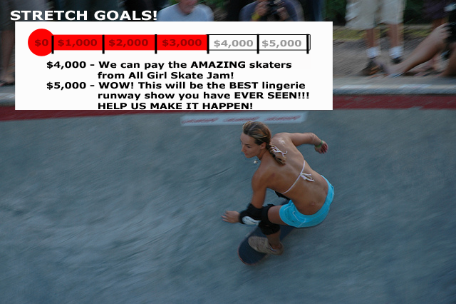 So excited to have a performance by 4 skaters from All Girl Skate Jam!