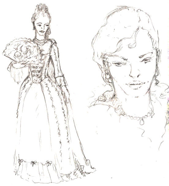 character sketch by JM Landels