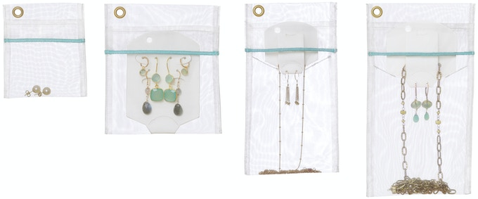 4 sizes of jewelry bags