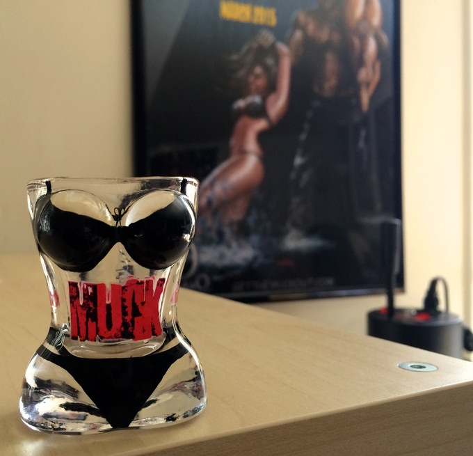 "Limited Edition ""MUCK"" Shot Glass"