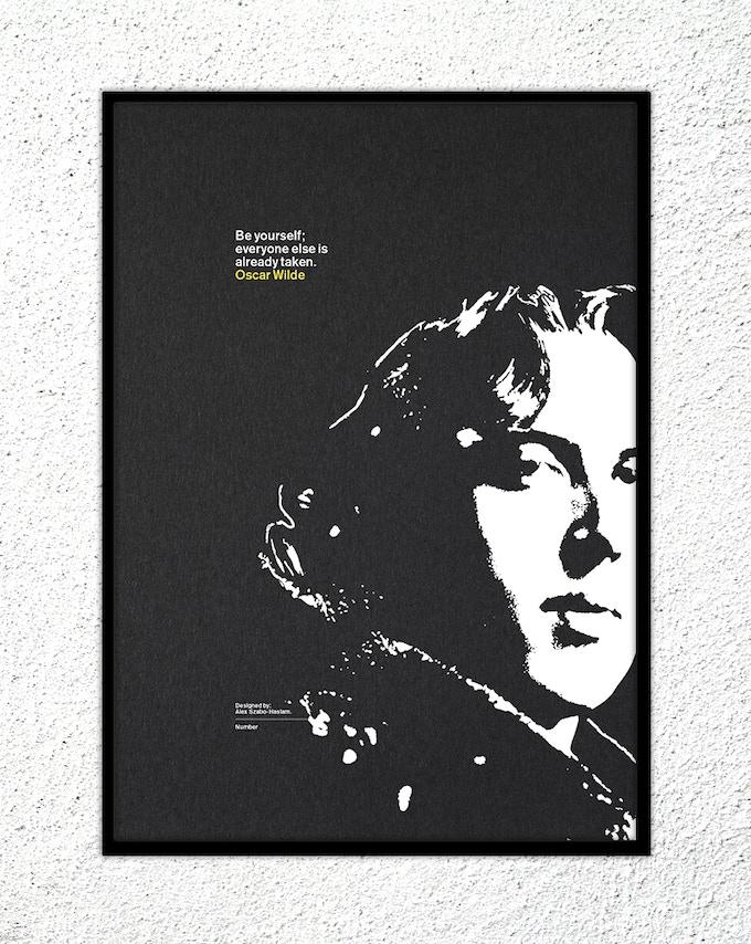 "18 – Oscar Wilde: ""Be yourself; everyone else is already taken."""