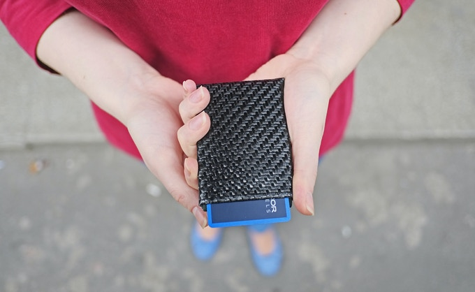 Kevlar Carbon Fiber Hybrid NERO Wallet
