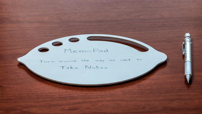 MemoPad: the perfect complement to every desk