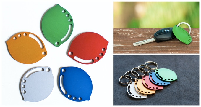 LimeRings are availables in five gorgeous colours: Gold, Green, Red, Blue and Aluminum
