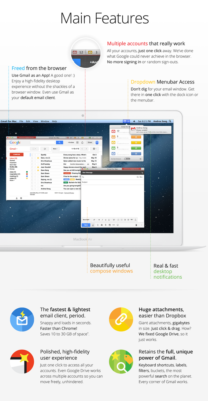 Gmail For Mac: Finally, Gmail Is A True Desktop Email