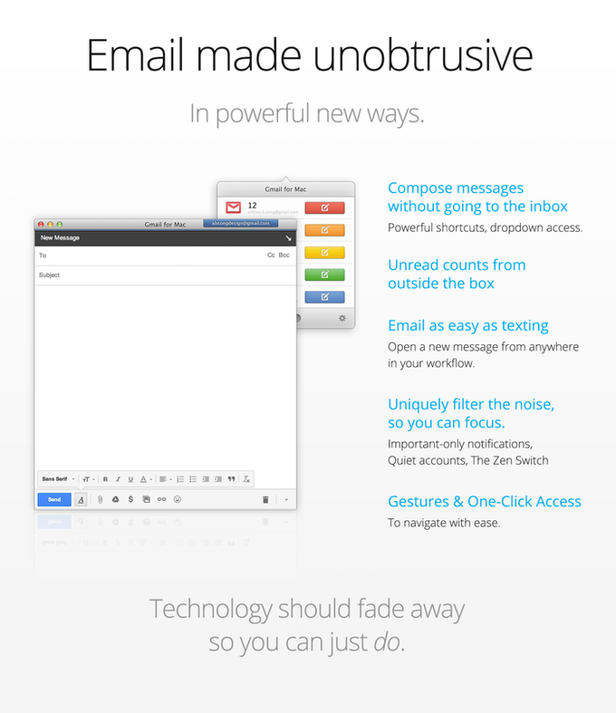 Gmail for Mac: Finally, Gmail is a true desktop email client