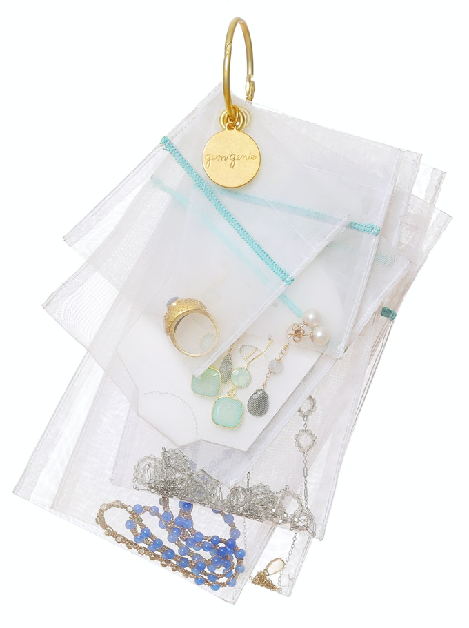 or hang the jewelry cards inside the jewelry bags