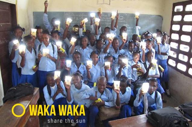 12,000 WakaWakas went to the people of Haiti