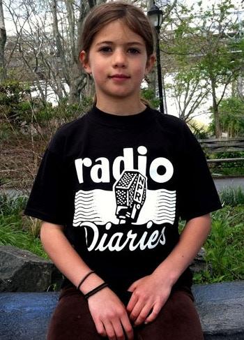 Radio Diaries t-shirt