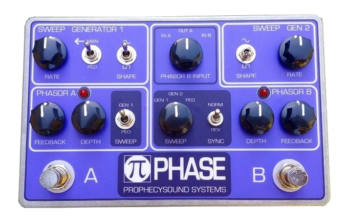 The current PiPhase pedal without automation